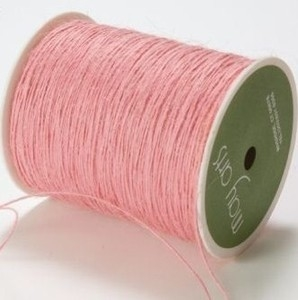 May Arts PINK Twine String Burlap