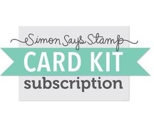 Simon Says Stamp Card Kit of the Month 2016 SUBSCRIPTION JULY START DATE