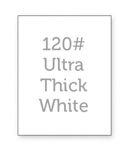 Simon Says Stamp WHITE CARDSTOCK 120 LB Base Weight 12 Pack