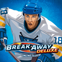 The logo of Break Away, a Microgaming slot. If you click on it, you will be taken to a page, where you can play the Break Away slot.