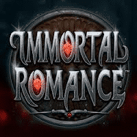 Logo of the Immortal Romance free online slot. If you click on the picture, you'll be taken to a page where you can play the Immortal Romance slot