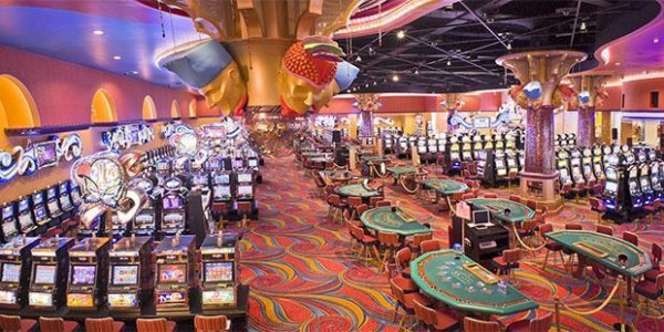This is a picture of the interior of Renaissance Casino, located in Willemstad, the capital of the Country of Curacao. On this page you can read about the legal status of poker, bingo, lottery, sports betting, casino gambling, cryptocurrency wagering and internet games of chance.