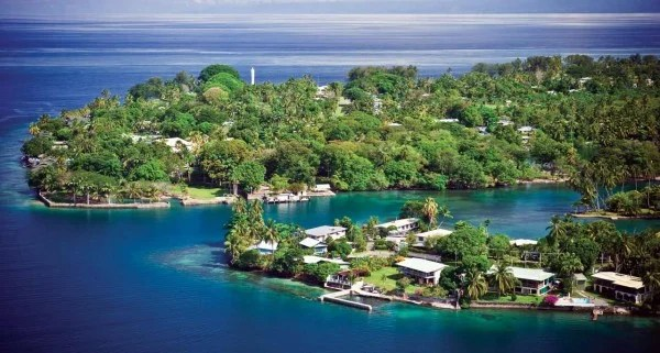 A picture of a Papua New Guinean (PNG) scenery - this is the header image of my guide about gambling and casinos in PNG.