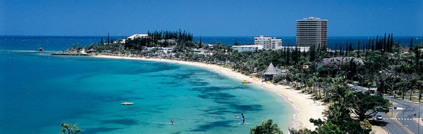 The picture shows the island of New Caledonia. The French laws apply to gambling in New Caledonia