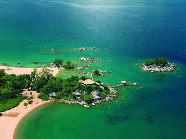 Picture of Lake Malawi, Africa's third largest lake. Gambling is legal in Malawi.