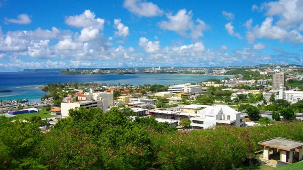 Picture of Guam's capital of Hagåtña. You can read about gambling, which is mostly illegal in Guam on this webpage. Online gambling is also technically illegal.