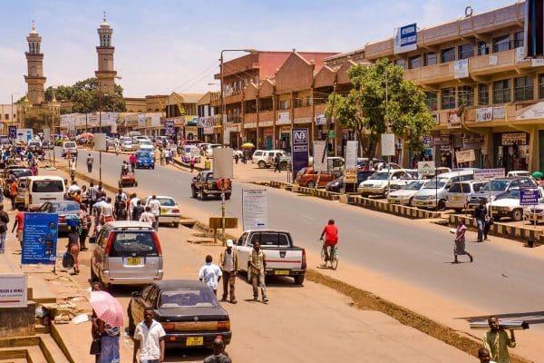 Street in Lilongwe, the capital of Malawi