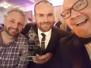 Simon's Heroes recognised as Community Group of the Year