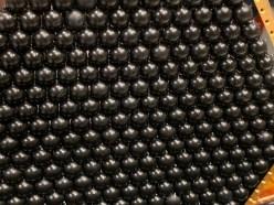 Lenslet array for a detector wafer