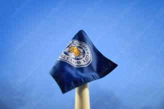 A Leicester City-branded corner flag