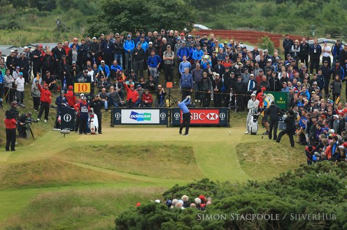 TROON, SCOTLAND - JULY 14: Rory McIlroy (NIR) on the 10th tee during the 145th Open Championship at Royal Troon Golf Club on 14th July 2016 in Troon, Scotland. Photo by Simon Stacpoole/SilverHub 0203 174 1069 / 07711 972644
