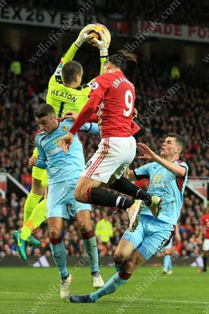 Burnley's defence squeezes out Zlatan Ibrahimovic