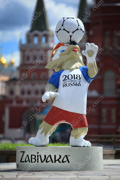 Zabivaka, the official mascot for the 2018 FIFA World Cup