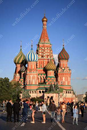 Saint Basil's Cathedral, in Red Square