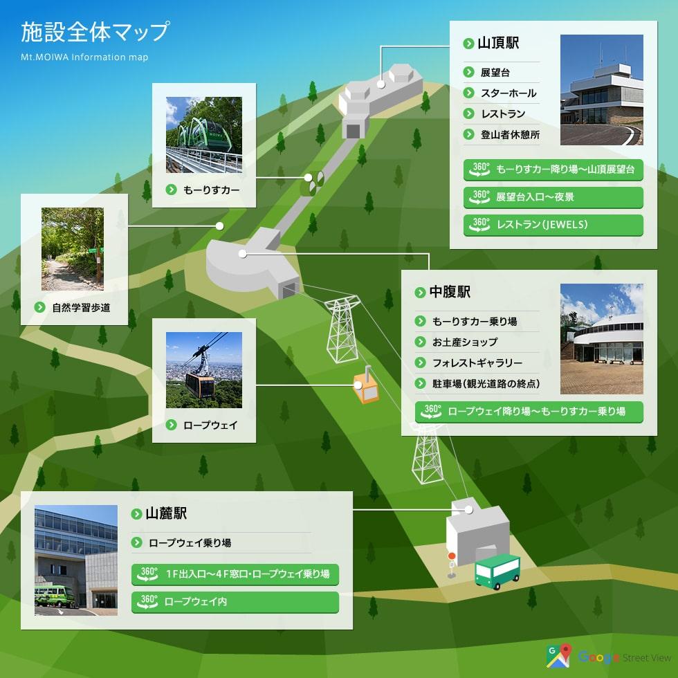 札幌藻岩山展望台夜景
