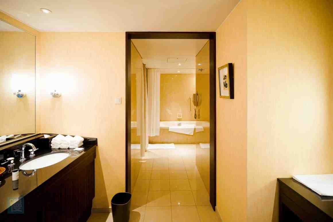 大阪喜來登都酒店 帝國套房浴室