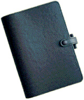 Filofax leather notebook