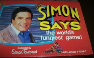 Simon Says board game