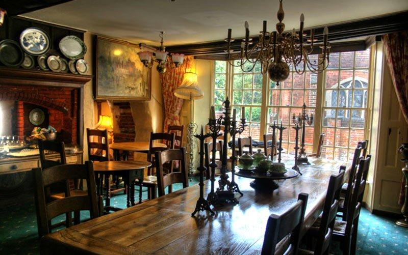 The Blue Boar Hotel restaurant