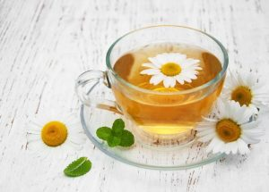 Chamomille tea for anxiety