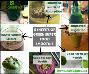 Benefits Of Green Superfood Smoothie