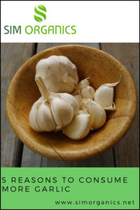 5 reasons to consume more garlic