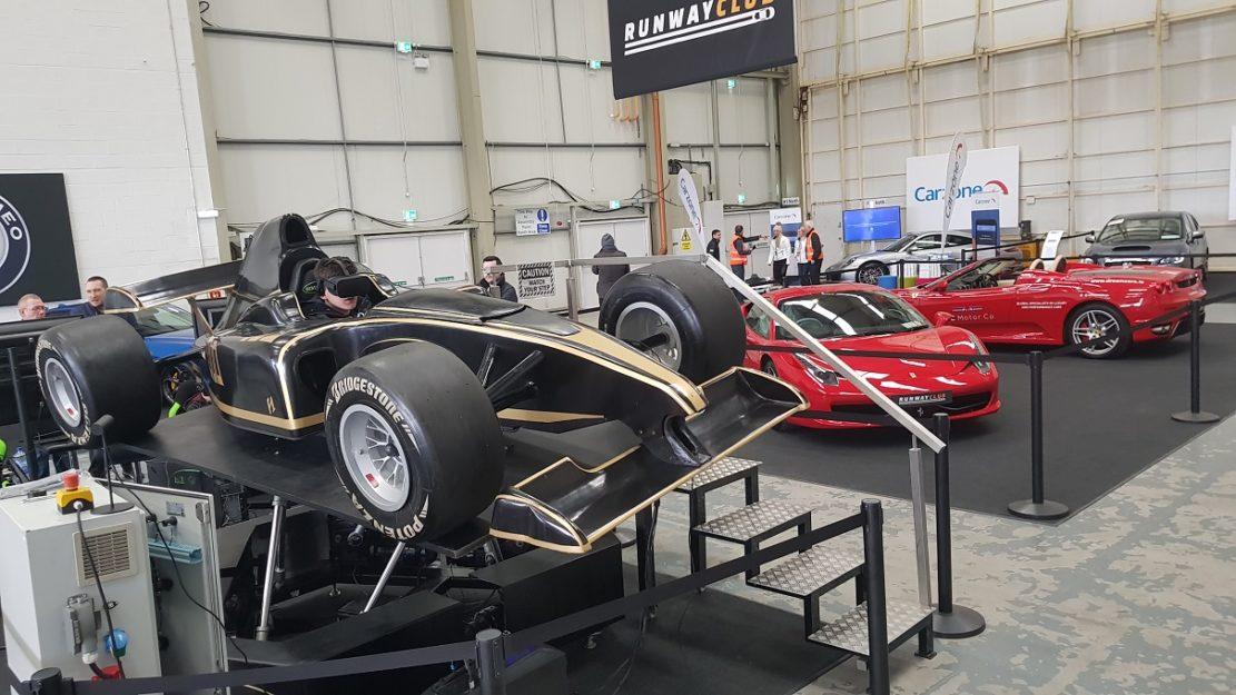VR F1 Simulator - www simotion ie