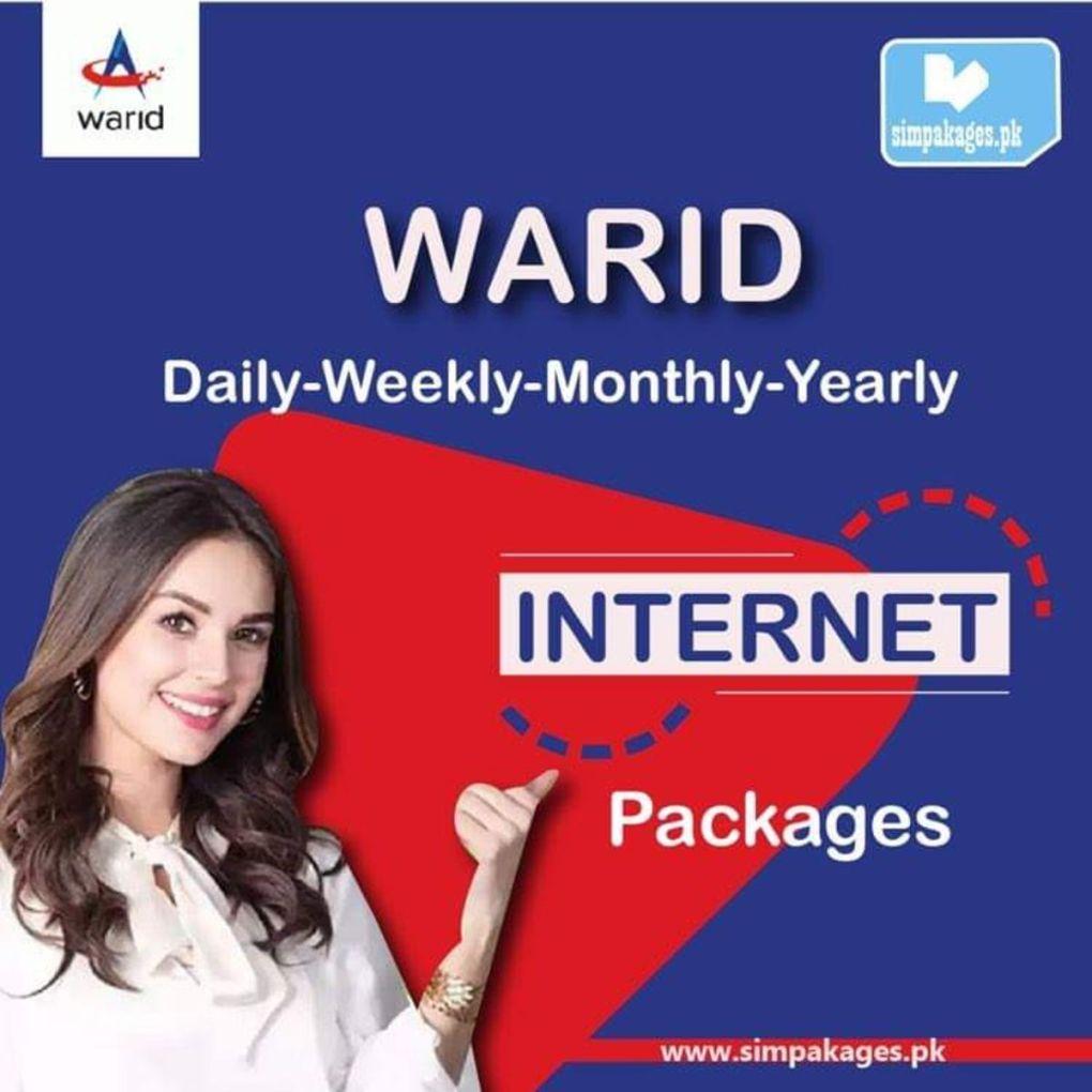 Warid Internet Packages