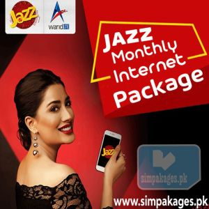 Jazz monthly internet package