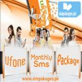 Ufone Monthly Sms Package