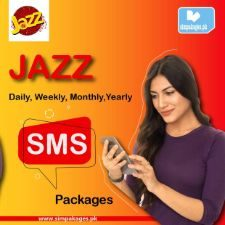jazz daily weekly monthly sms packages