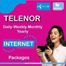telenor daily weekly monthly yearly internet packages