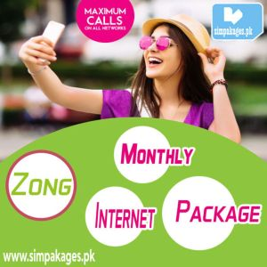 Zong Monthly Internet Package