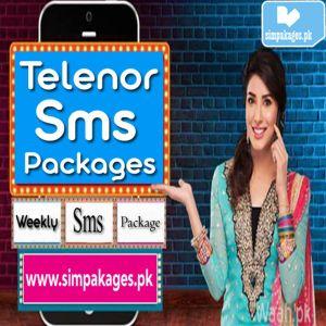 Telenor Weekly SMS Package