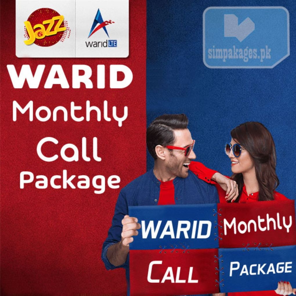 Warid Monthly Call Package
