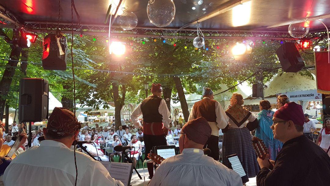 Festival de Jota en Pamplona