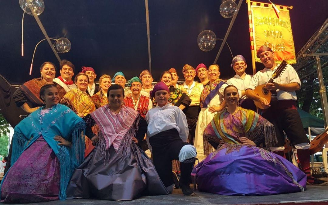 Festival de Jota en los San Fermines. Pamplona 14 de julio de 2018