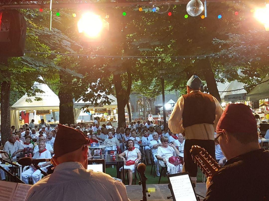 Festival en Pamplona