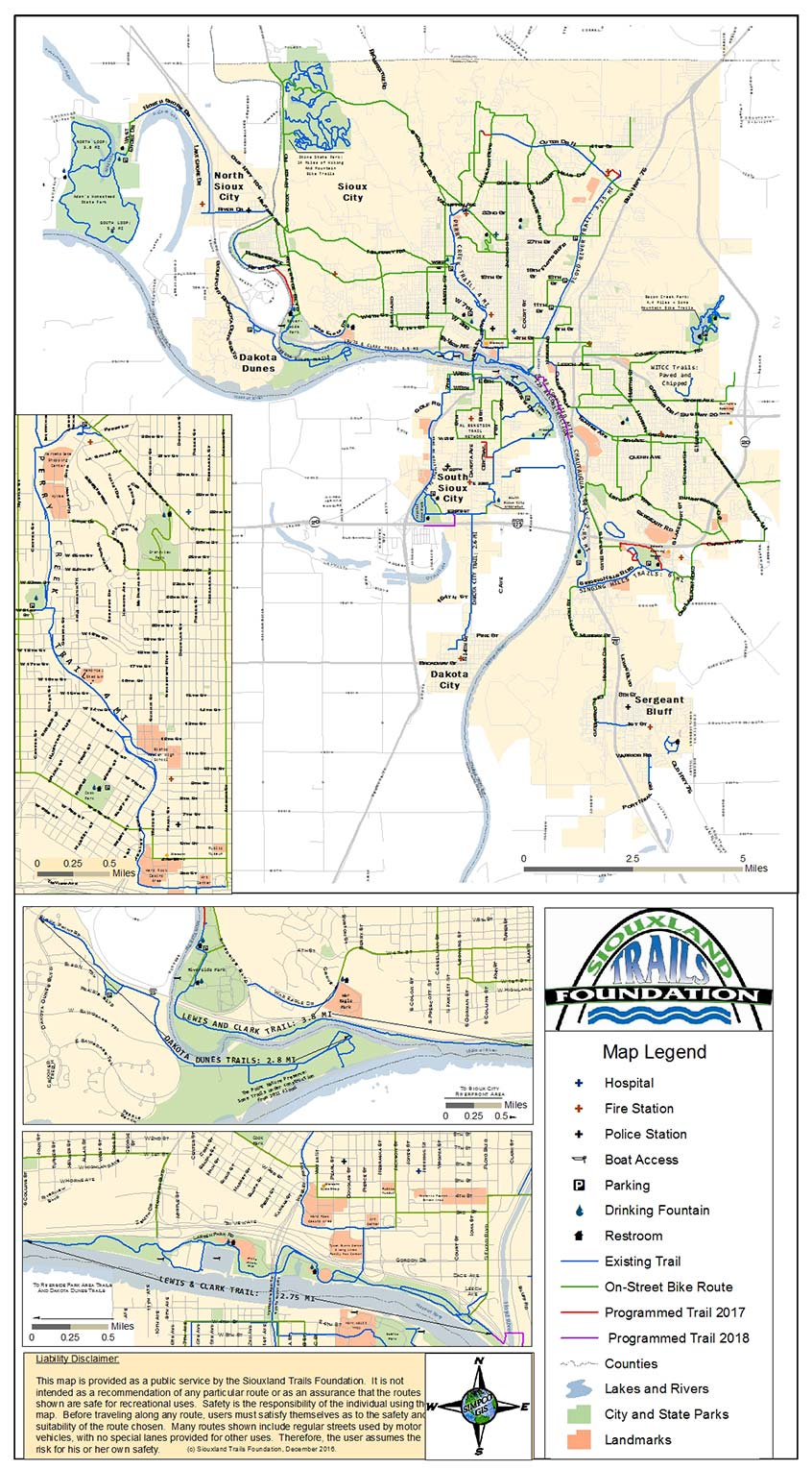 Trails Map GIS Mapping SIMPCO