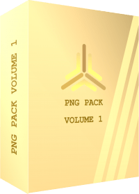 TEMPLATE BOX 3D PNG PACK VOLUME 1