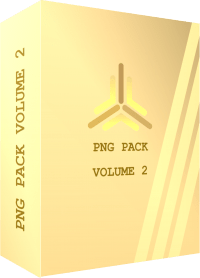 TEMPLATE BOX 3D PNG PACK VOLUME 2