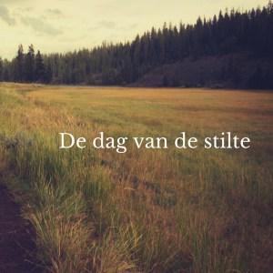 De dag van de stilte