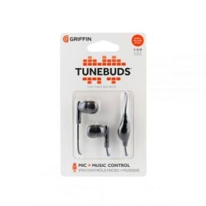 Griffin Headphones, Tunebuds שחור
