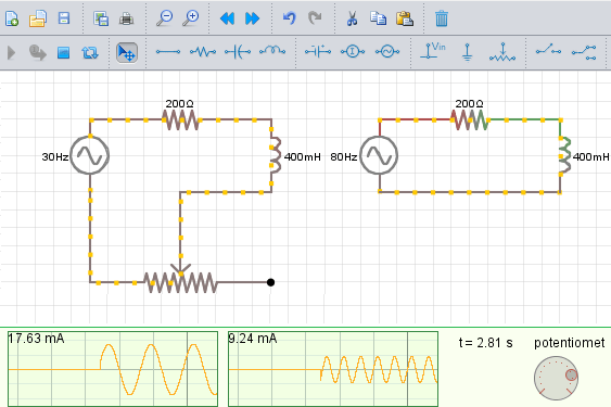 Physics Circuit Simulator