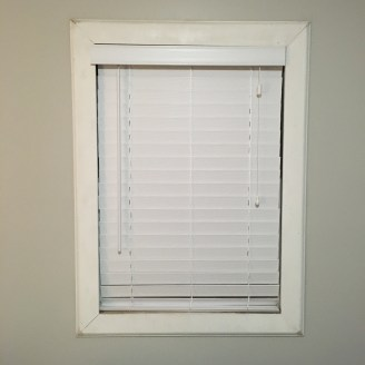 Not a true before pic but this is another window with the same trim.