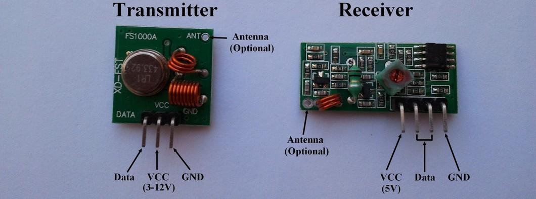 Simple Rf Receiver Circuit Diagram
