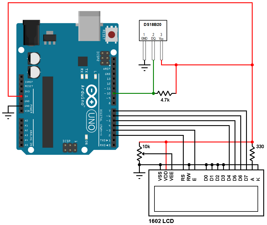 Basic Lm35 Temperature Sensor Circuit Electronic Circuit