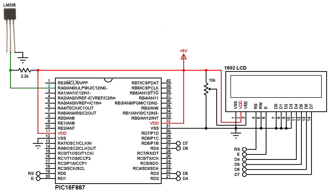 Pic16f887 Projects - Auto Electrical Wiring Diagram