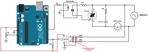small resolution of arduino light dimmer circuit