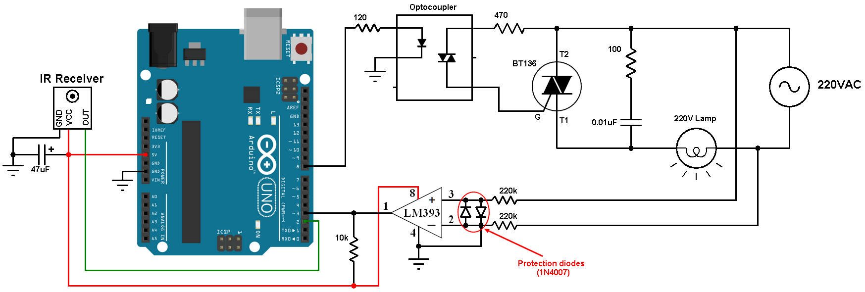 hight resolution of light dimmer circuit diagram using remote wiring diagram week 220v ac to 12v dc simple diagram genie electronique schema